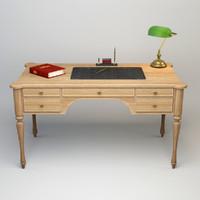 3d model cadore desk lamp