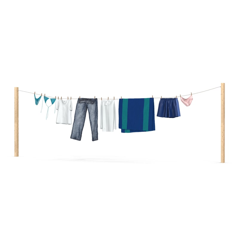 fbx clothes line 2