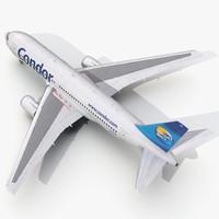 3d 3ds boeing 767-200 condor flugdienst