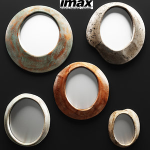 5 piece alexa abstract 3d max