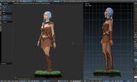 3D model elf