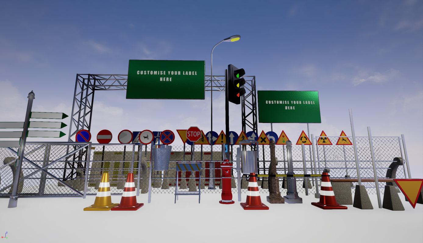 city environment 3d max