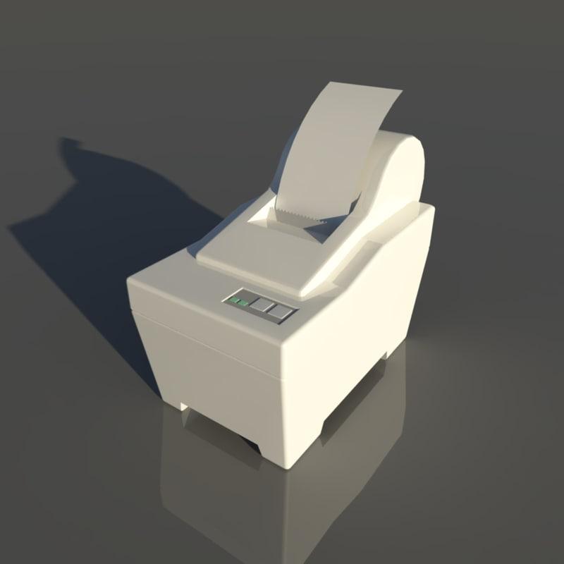 printer star sp200 3d obj