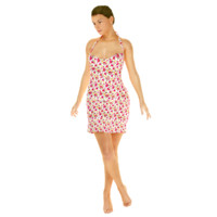 summer dress 3d max