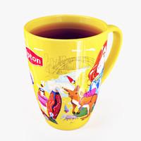 3d model lipton cup australia