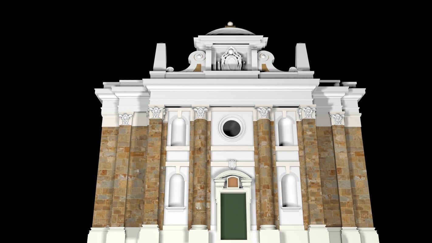 3d italian church