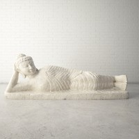 Custom Design 3D Scan Reclining Buddha Statue