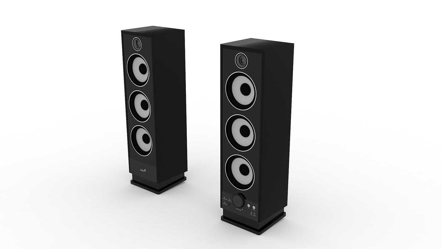 3d genius speakers model