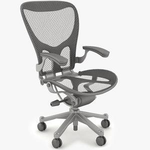 design office desk chair 3d model
