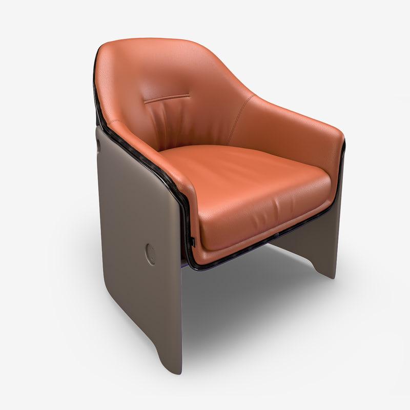 3d chair plank avus