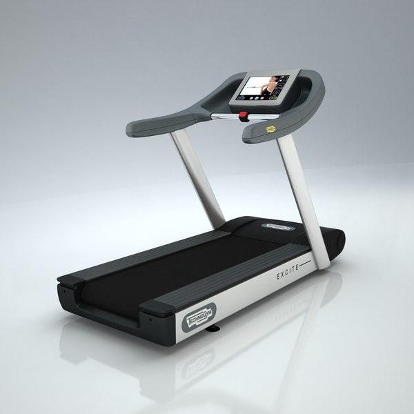 max technogym treadmill
