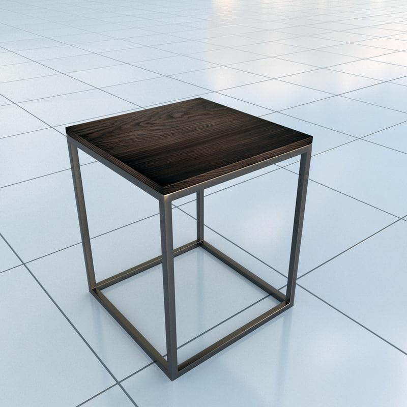 3d model stool bettelux