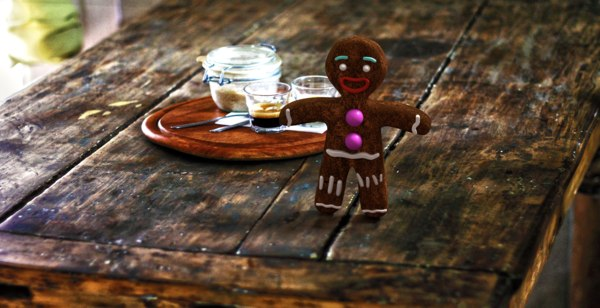 3d model gingerbread zenzy cookies