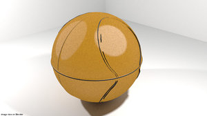 3d model basket basketball sport