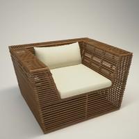 Stripes armchair