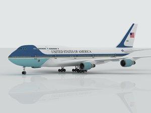 max airplane boeing 747 air force