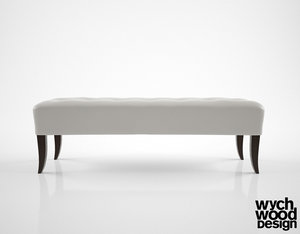 3d wychwood design bench fs0121 model