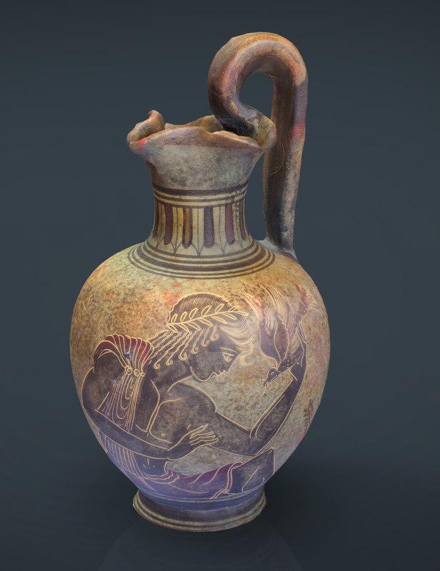max realistic greek vase