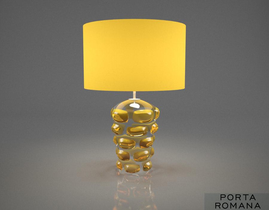 porta romana blob lamp 3d model