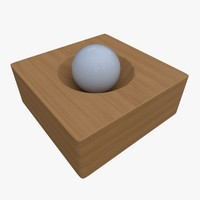 mortar pestle 3d 3ds