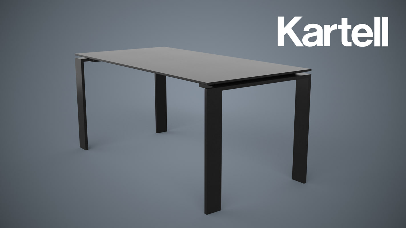 3d model of kartell table