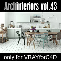 Archinteriors for C4D vol. 43