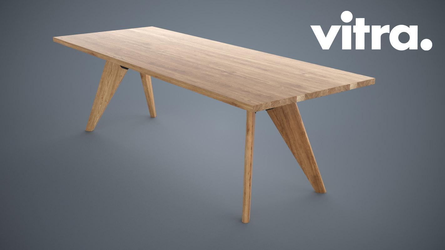 3d model of table solvay