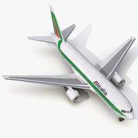 boeing 767 200 alitalia 3ds