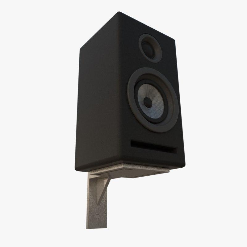 3d model wireless speakers