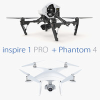 Collection DJI Phantom 4 + Inspire 1 PRO