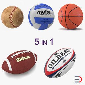 sport balls 4 3d 3ds