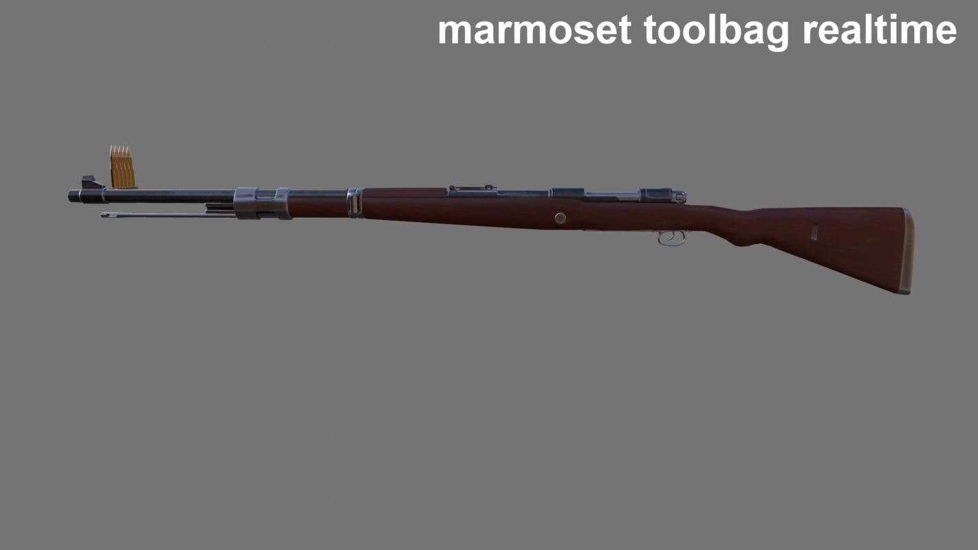 3d mauser 1940 model