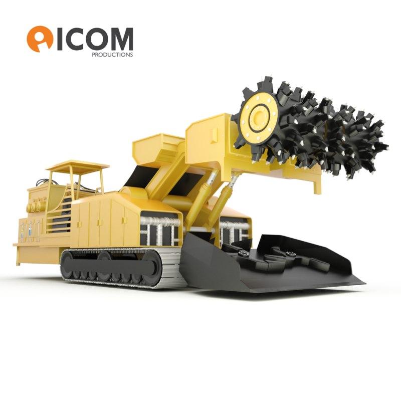 ml340 continuous miner machine max