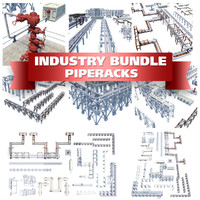 Pipe Racks Building Blocks Bundle