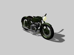 ural motorcycle 3d max
