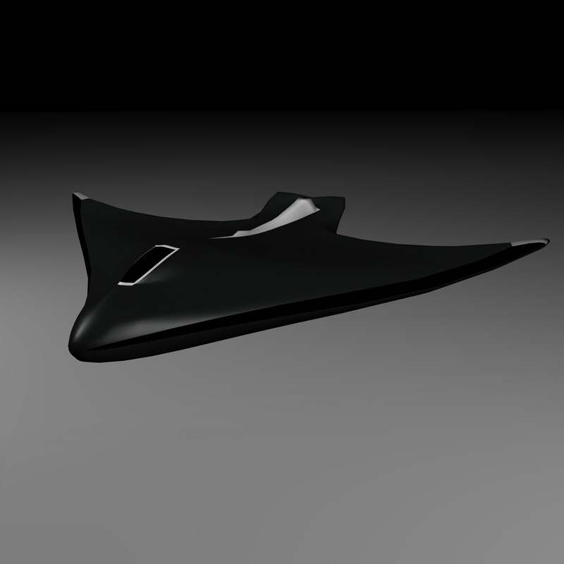 3d model spaceship space futuristic