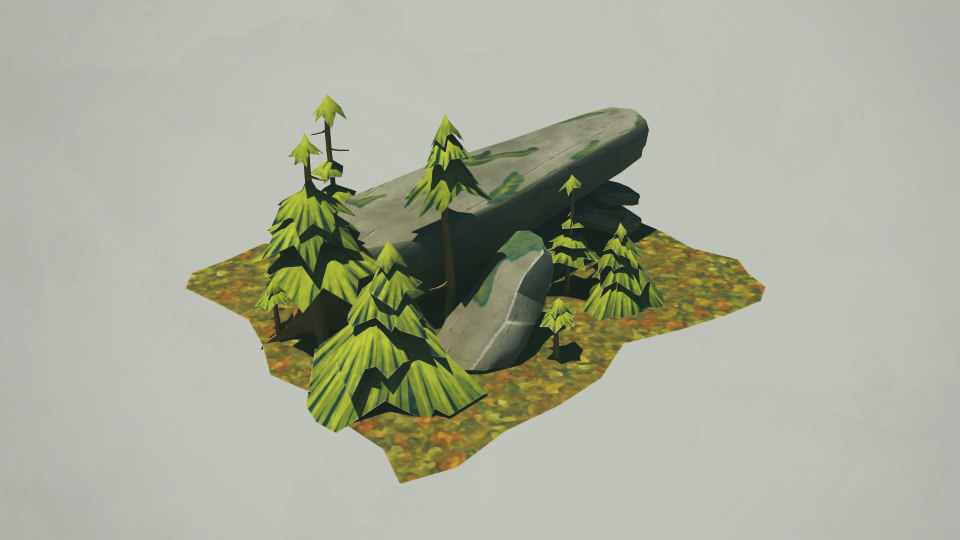 nature tree 3d obj