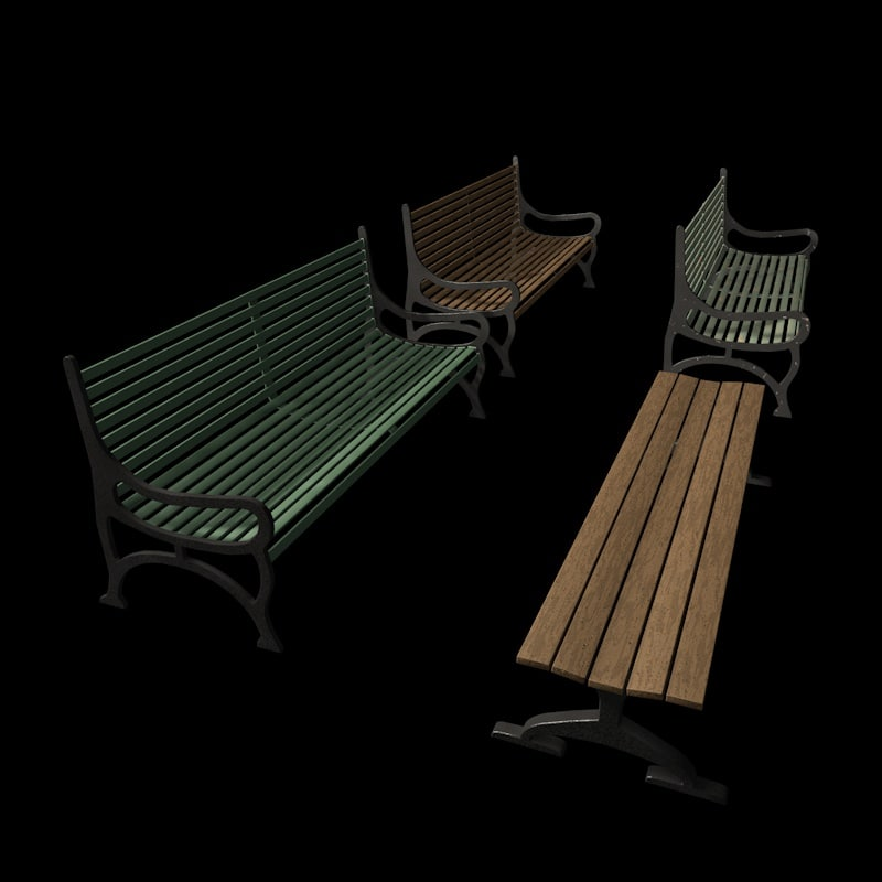 3d benches rusty