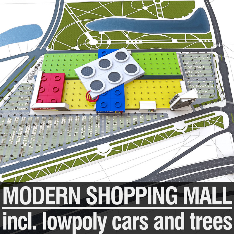 3d shopping mall