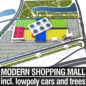 3d shopping mall