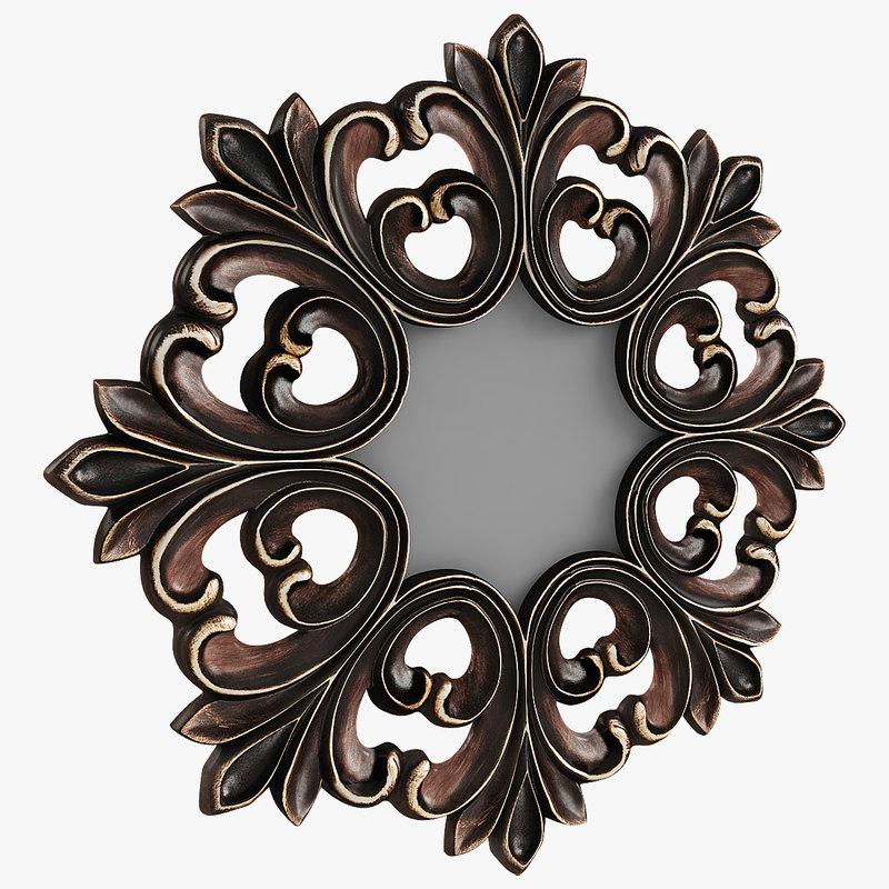 max photorealistic mirror