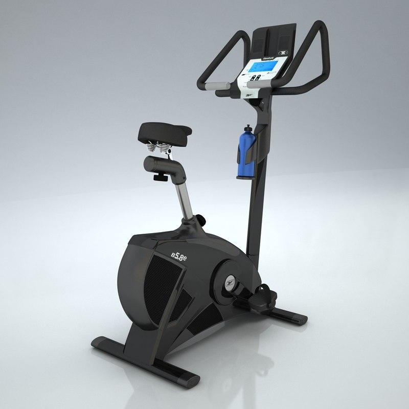 3d reebok bike fitness