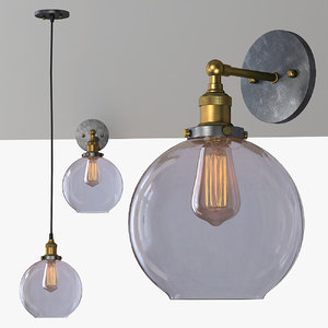 max lamp glass light loft