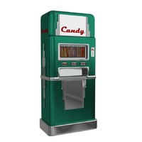 Vintage Candy Machine