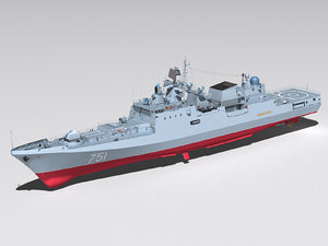3d model project 11356 admiral essen