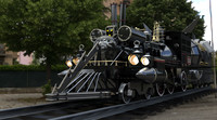 jules verne train 80 s 3d model