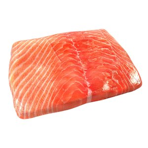 3d salmon