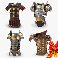 body armors 3d max