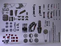 3d c4d details technical