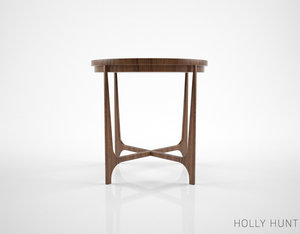holly hunt portia table 3d model